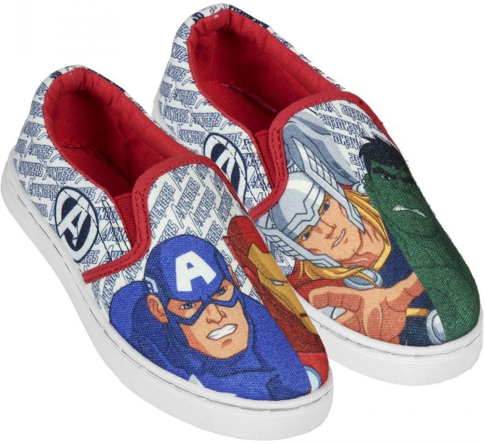 c000210130db Disney Brand Chlapčenské nazúvacie tenisky Avengers - farebné značky Disney  Brand - Lovely.sk