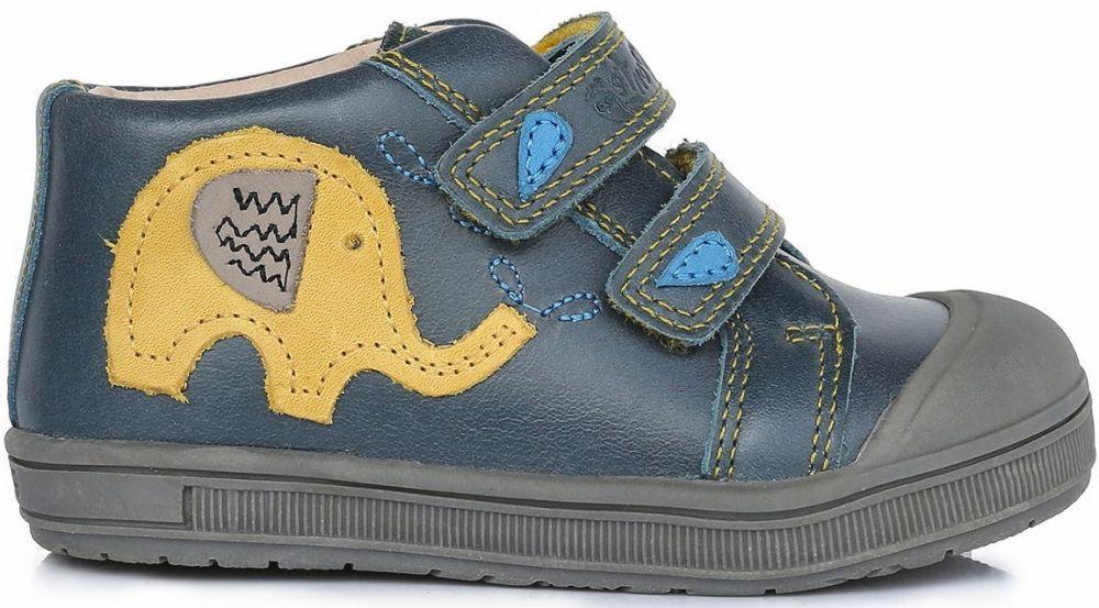 a24c7e641 Ponte 20 Chlapčenské kožené topánky so slonom - modré značky Ponte 20 -  Lovely.sk