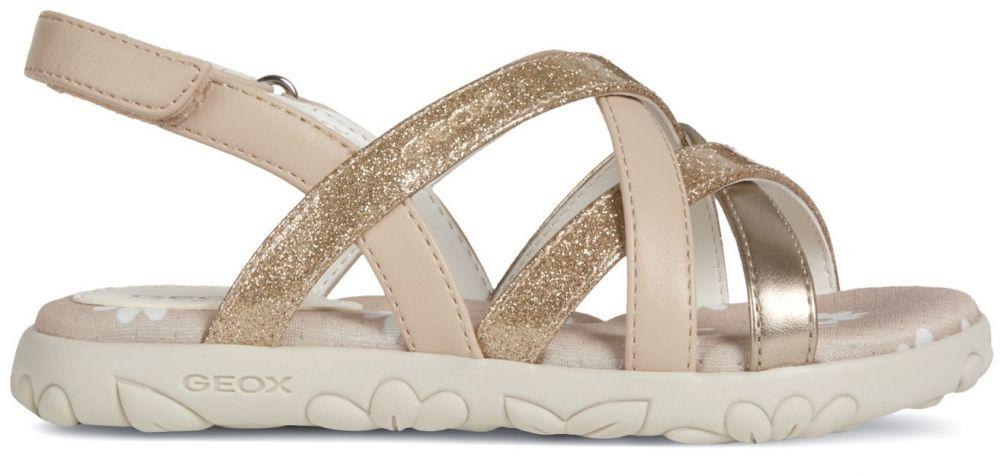 f8ac80f0a735 Geox Dievčenské sandále Hahiti - béžovo-zlaté značky Geox - Lovely.sk