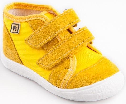 785bb6a16cb83 RAK Detské členkové tenisky Milada - žlté značky RAK - Lovely.sk