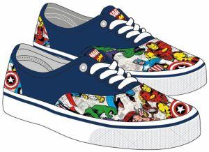 1e246fd128 Disney Brand Chlapčenské nazúvacie tenisky Avengers - farebné značky ...