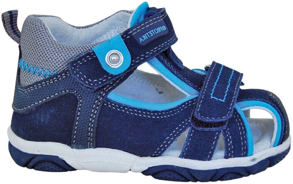 f841e365fed2 Protetika Chlapčenské sandále Real - modré značky Protetika - Lovely.sk