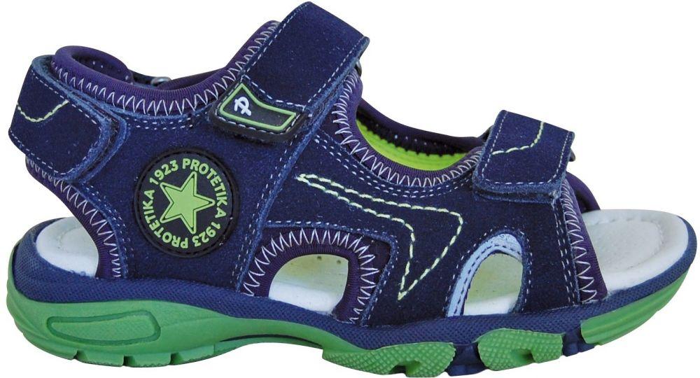 424692c953c3 Protetika Chlapčenské sandále Sven - modré značky Protetika - Lovely.sk