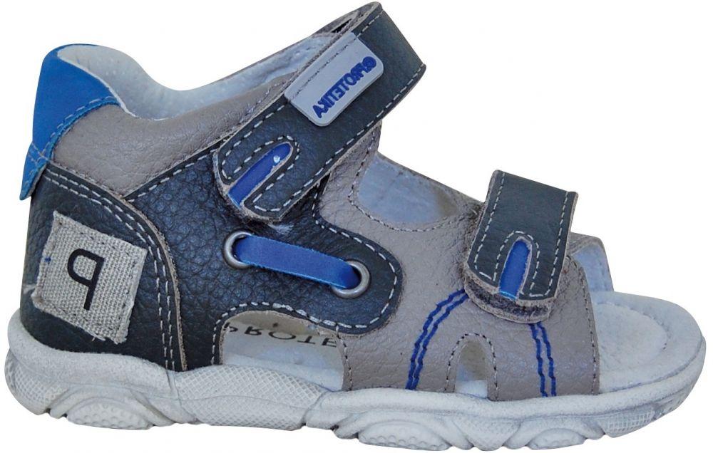 f751d69d84ab Protetika Chlapčenské sandále Grande - modré značky Protetika - Lovely.sk