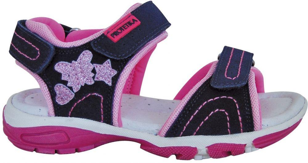 7d2fb88ca45b Protetika Dievčenské sandále Holy - tmavo modré značky Protetika ...