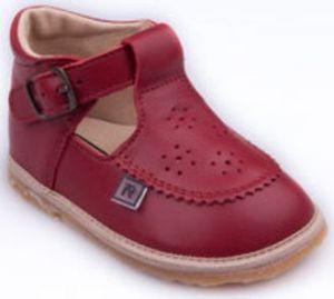 3b45bcf204 RAK Dievčenské kožené topánočky Bjanka - červené