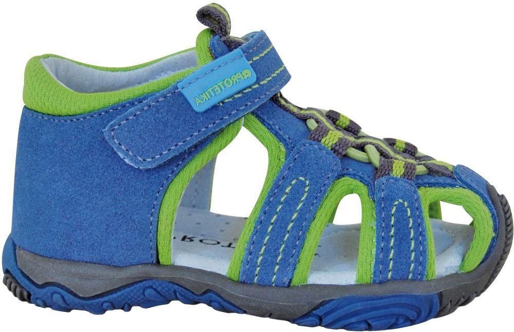b07e4d046943 Protetika Chlapčenské sandále Sid - modro-zelené značky Protetika -  Lovely.sk