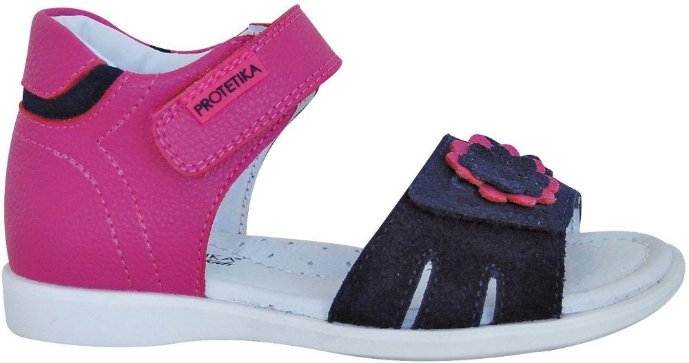 e48d2d8ae74a Protetika Dievčenské sandále Tiana - ružové značky Protetika - Lovely.sk