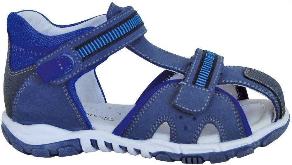 657081772210 Protetika Chlapčenské sandále Marano - modré značky Protetika - Lovely.sk