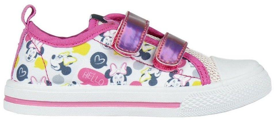 ec272117c1 Disney Brand Dievčenské tenisky Minnie - bielo-ružové značky Disney ...