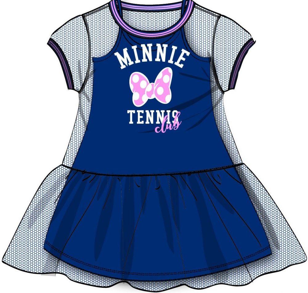 d35b433a0ce0 Disney by Arnetta Dievčenské šaty Minnie - modré značky Disney by Arnetta -  Lovely.sk