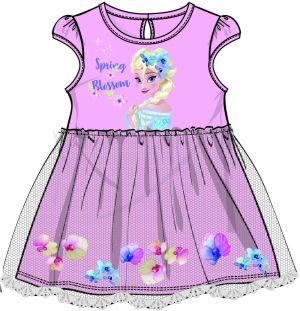 92de482c0cfb Disney by Arnetta Dievčenské šaty Frozen - ružové