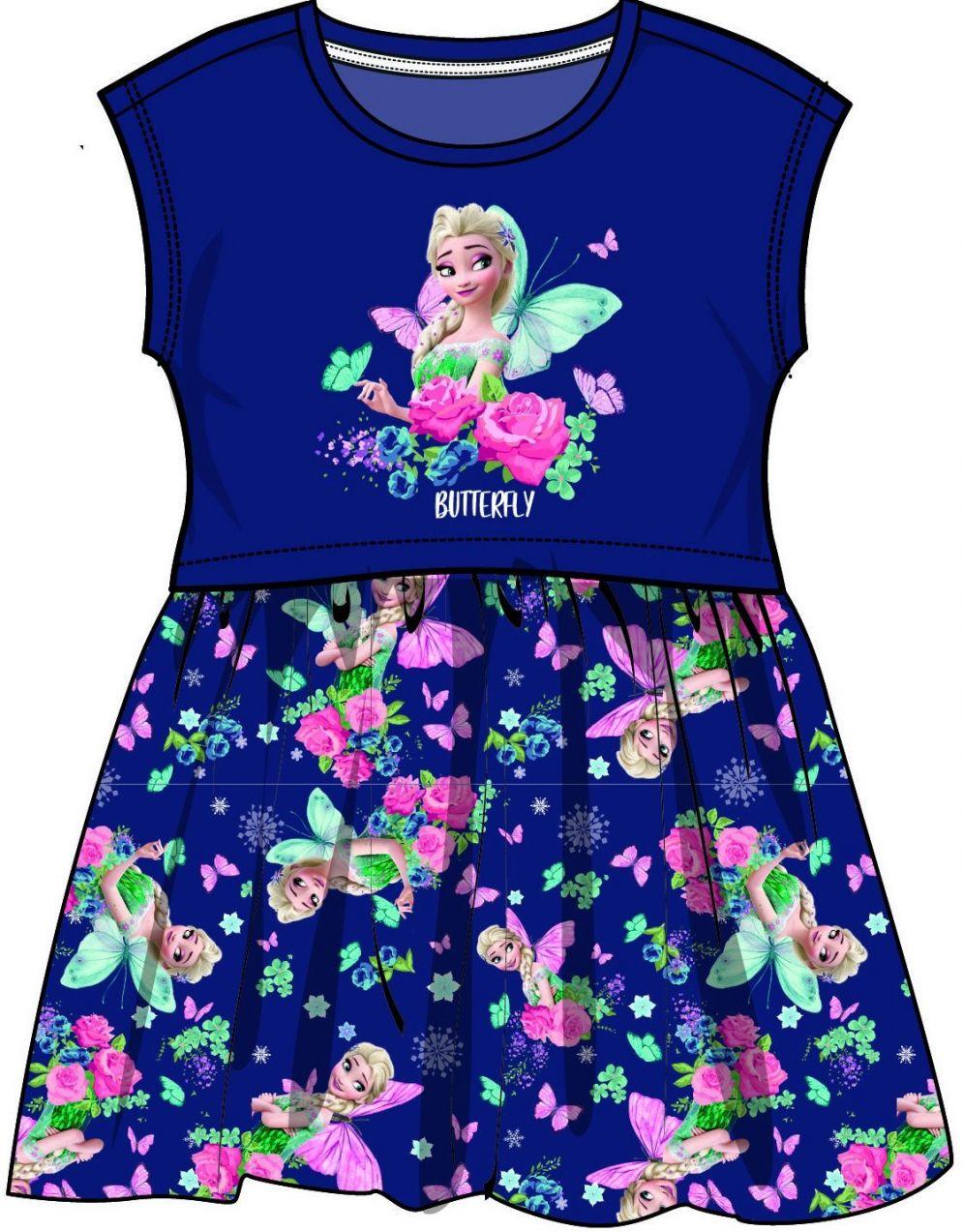 8760461d9673 Disney by Arnetta Dievčenské šaty Frozen - modré značky Disney by Arnetta -  Lovely.sk