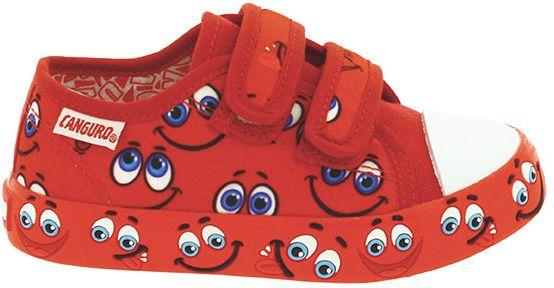 a4db6f4cfb Canguro Chlapčenské tenisky - červené značky Canguro - Lovely.sk