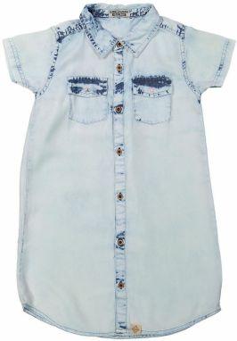 92af2eba6805 Dirkje Dievčenské riflové šaty - svetlo modré