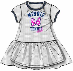 d3601b697237 Disney by Arnetta Dievčenské šaty Minnie - biele
