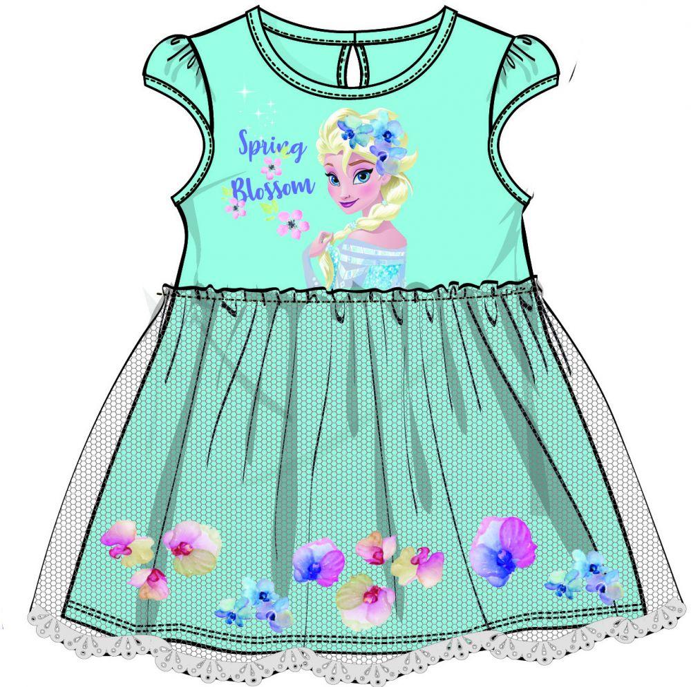 38b3d2e3d38d Disney by Arnetta Dievčenské šaty Frozen - modré značky Disney by ...