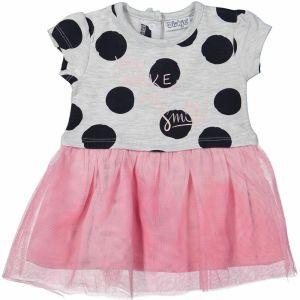 485da1f8e135 Dirkje Dievčenské šaty s bodkami - farebné