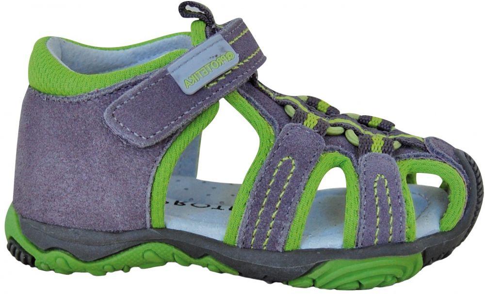 cbf195d29dba Protetika Chlapčenské sandále Sid - šedo-zelené značky Protetika - Lovely.sk