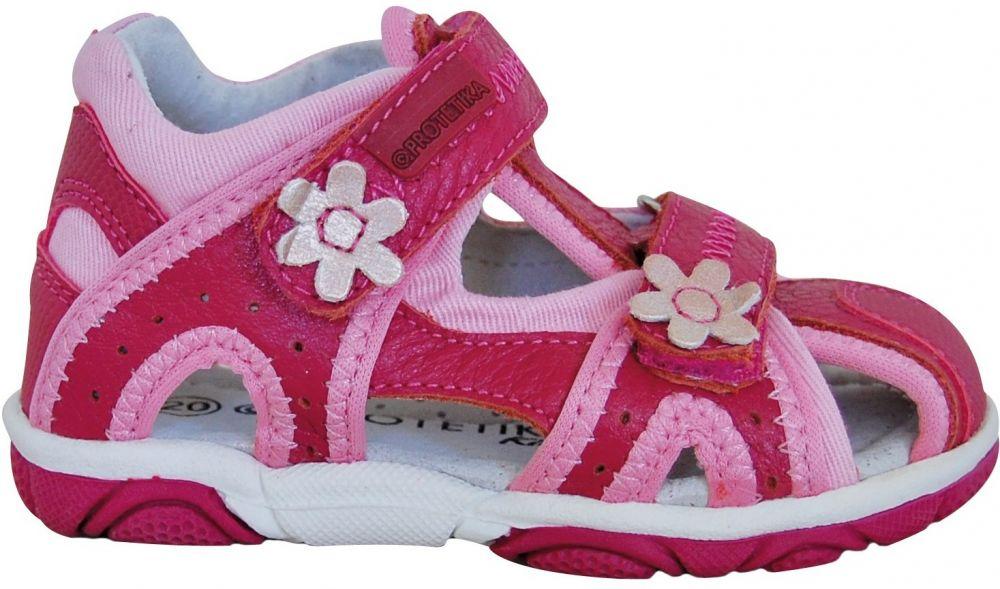 eb8475590361 Protetika Dievčenské sandále Ibiza - ružové značky Protetika - Lovely.sk