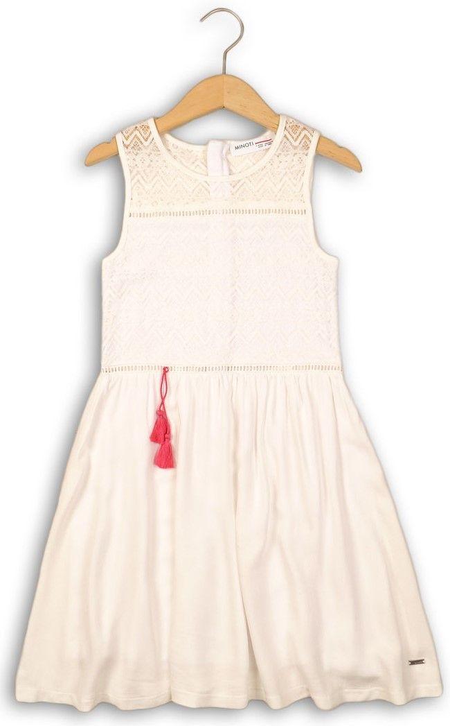 5fdeaed44a48 Minoti Dievčenské šaty - biele značky Minoti - Lovely.sk