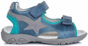b6f14e03faff D.D.step Chlapčenské sandále s hviezdou - modré