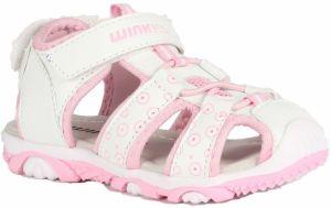 56126d116ecd Wink Dievčenské sandále - bielo-ružové