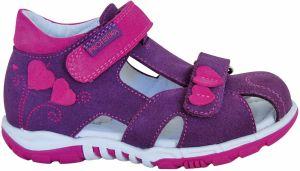 22578932d3f7 Protetika Dievčenské kožené tenisky Dakota - ružové značky Protetika ...
