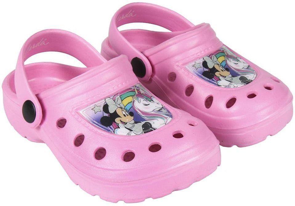 b3d387c45f2d Disney Brand Dievčenské sandále Minnie - svetlo ružové značky Disney ...