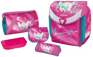 c4fd74f176 Dievčenský školský batoh s bodkami značky Bagmaster - Lovely.sk
