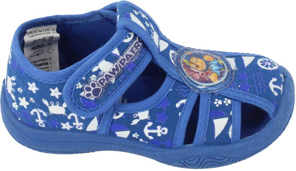 a670699e55013 Disney by Arnetta Chlapčenské sandále Paw Patrol - modré značky ...