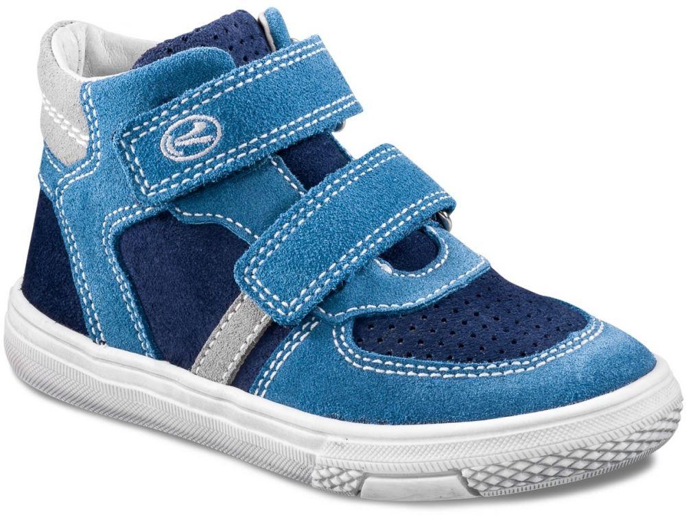 d96ebe2528b6b Richter Chlapčenské členkové tenisky - modré značky Richter - Lovely.sk