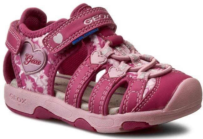 Geox Dievčenské sandále B Sandal Multy Girl - ružové značky Geox - Lovely.sk 677524911a