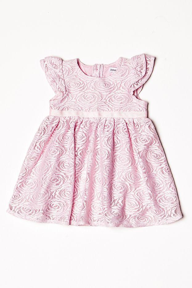 92b3e662ea64 Minoti Dievčenské krajkové spoločenské šaty - ružové značky Minoti -  Lovely.sk