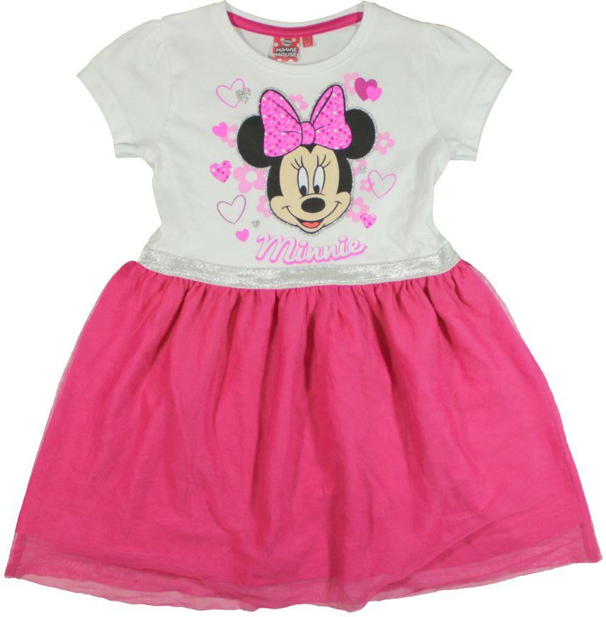 7a1348394b02 E plus M Dievčenské šaty Minnie - bielo-ružové značky E plus M - Lovely.sk