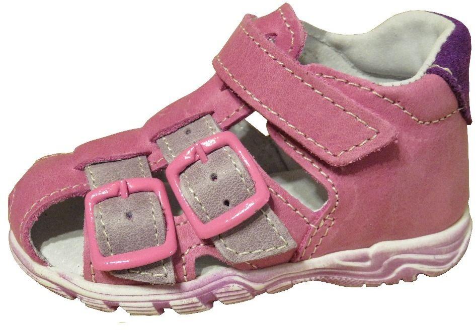 a0031ba9926f Jonap Dievčenské kožené sandále - ružové značky Jonap - Lovely.sk