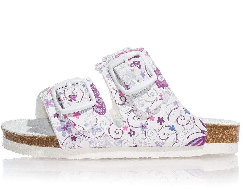 d3f73b932aad5 Protetika Dievčenské ortopedické papuče - biele značky Protetika - Lovely.sk
