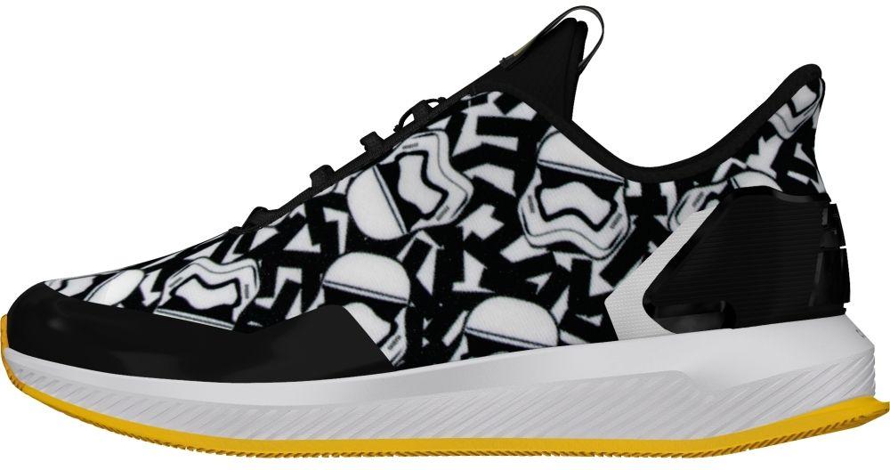 02b0d53916635 adidas Chlapčenské tenisky Star Wars - čierno-biele značky Adidas -  Lovely.sk
