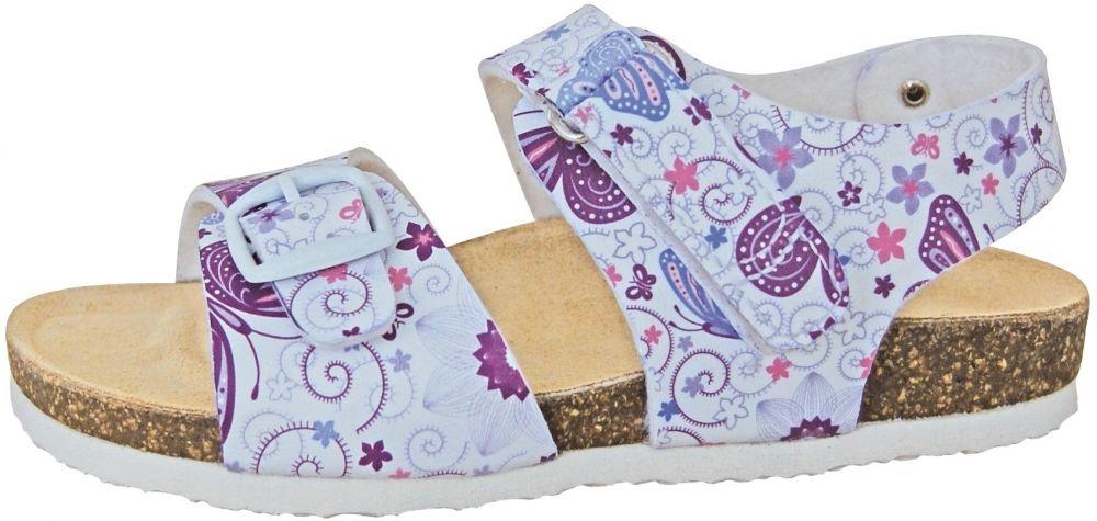 8481577ea03ec Protetika Dievčenské ortopedické sandále - biele značky Protetika -  Lovely.sk