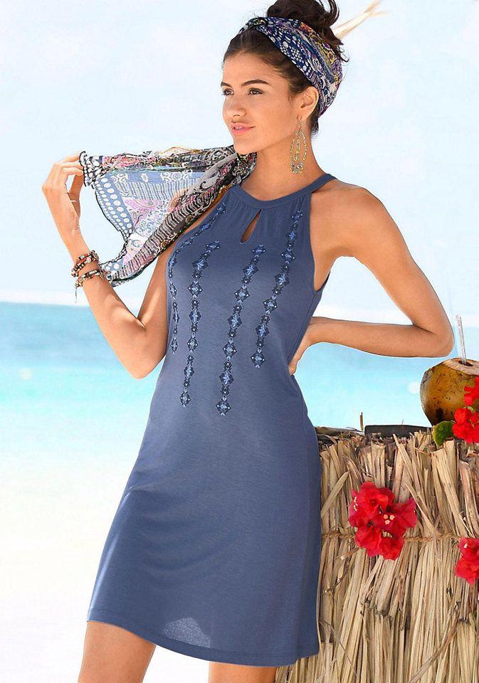 a2d204ee1922 Buffalo London Buffalo London Letné šaty s modernou potlačou modrá 44  značky BUFFALO LONDON - Lovely.sk
