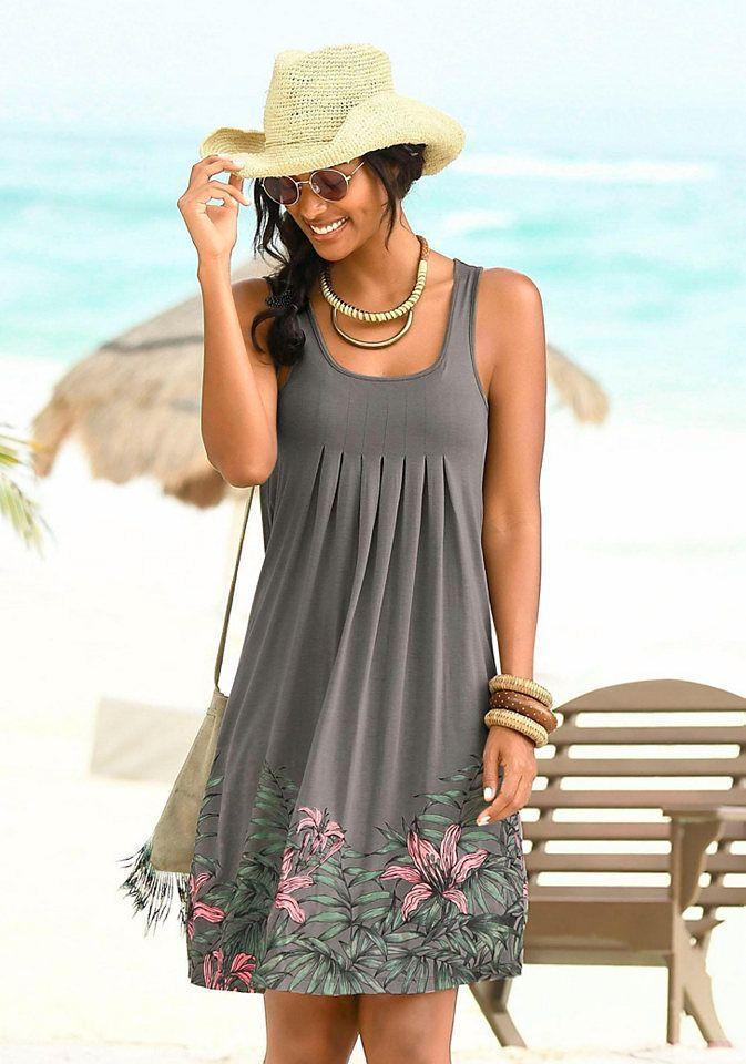 Beachtime Beachtime Plážové šaty hnedosivá »ibištek« 34 značky BEACHTIME -  Lovely.sk a8d5073ed40