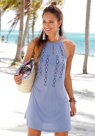 Buffalo London Buffalo London Letné šaty modrá 44 značky BUFFALO LONDON -  Lovely.sk 836af755364