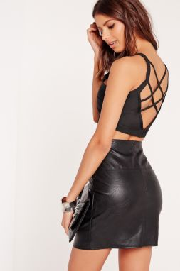 Missguided - Top Criss Cross Strap