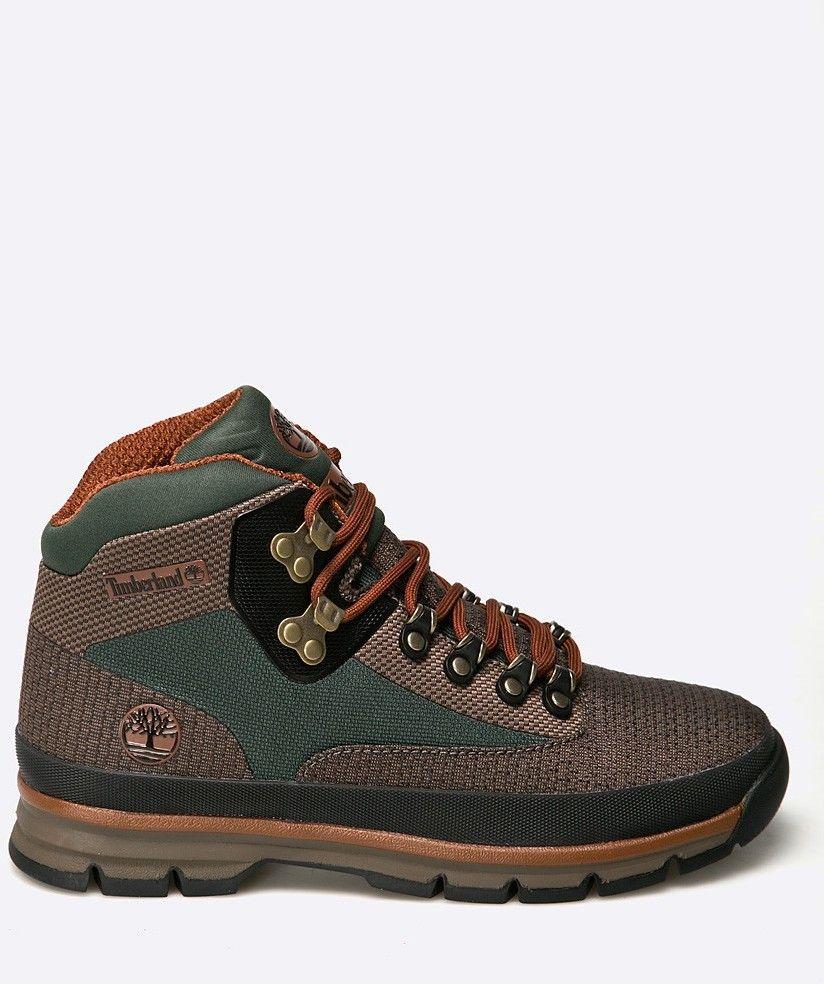 Timberland - Vysoké čižmy Euro Hiker Jacquard značky Timberland - Lovely.sk f896ec18ed5