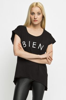 HE HIVE - Top BIEN TUNIC BLACK