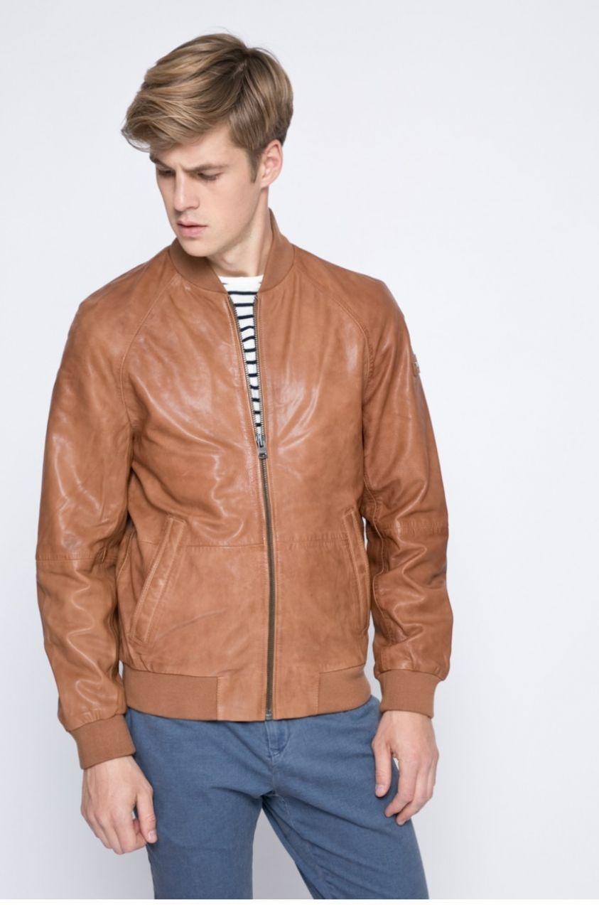 Tommy Hilfiger - Kožená bunda Pete značky Tommy Hilfiger - Lovely.sk 708621547e