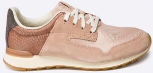 Clarks - Topánky Floura Mix Nude Pink