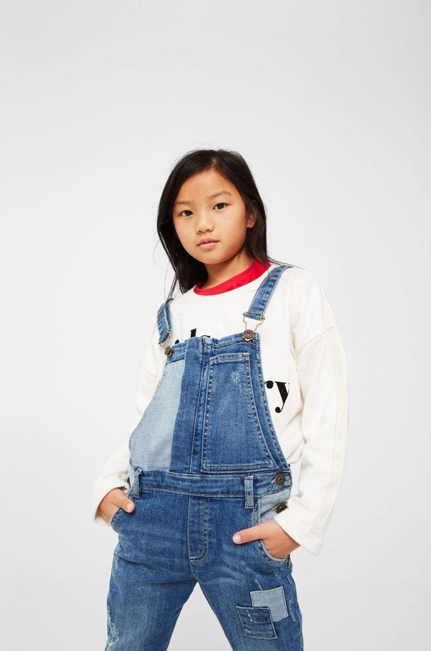d0fefb6dcec2 Mango Kids - Detské nohavice na traky 110-164 cm značky Mango Kids -  Lovely.sk