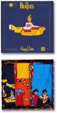 Happy Socks - Ponožky The Beatles (3-pak)