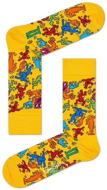 Happy Socks - Ponožky Keith Haring All Over